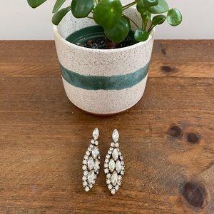 Sparkly Jcrew pendant earrings